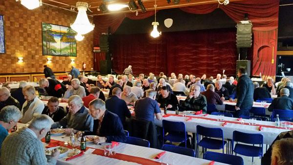 Jultallrik för Pappers avd.16;s pensionärer 2015